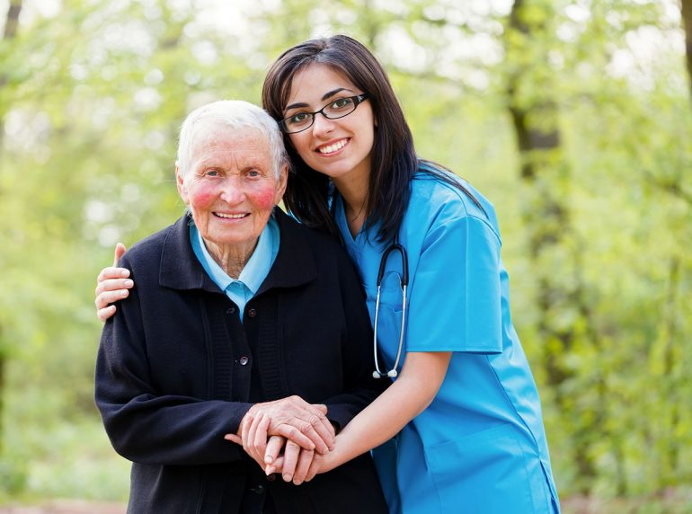Home health care services for elders